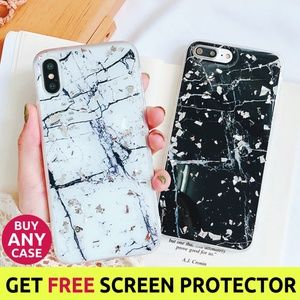 ⚠️Clearance iPhone X/XS/7/8/Plus Marble Case